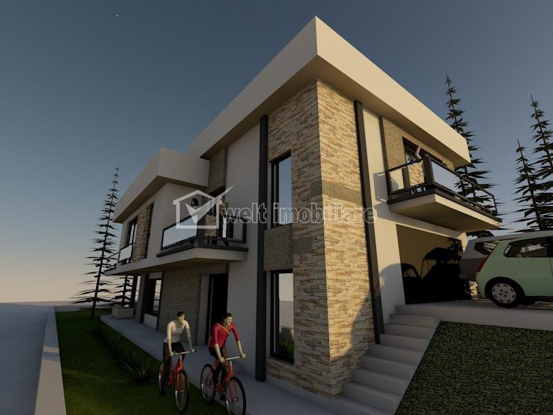 Teren cu Autorizatie de Constructie casa individuala, zona Wonderland