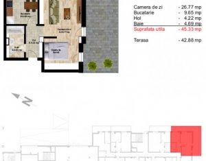 Apartament 2 camere, decomandat, zona Teatrului National!