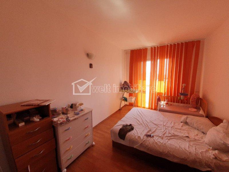 Aparament 2 camere, 47 mp plus balcon de 4 mp. bloc nou, Manastur