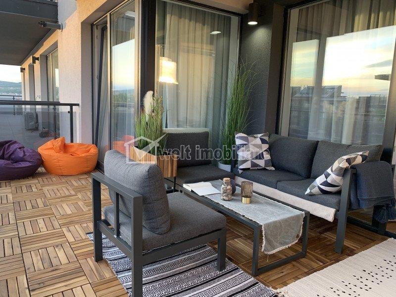 Apartament cu 2 camere, Grand Park, 53 mp, terasa 14 mp, cu preluare de chiriasi