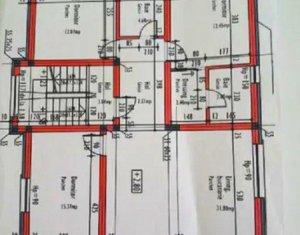 Apartament 4 camere, 95mp, 2 balcoane, semifinisat, garaj, Taietura Turcului