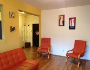Inchiriere apartament 2 camere, finisat, terasa 15 mp, zona Porii