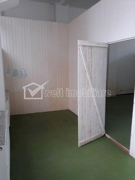 Spatiu comercial 75mp, Dorobanti, camera frigorifica, parter inalt