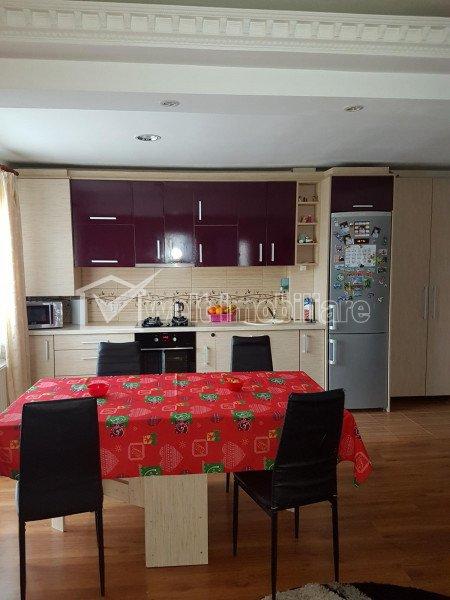 Apartament cu 3 camere de vanzare, mobilat si utilat, Floresti