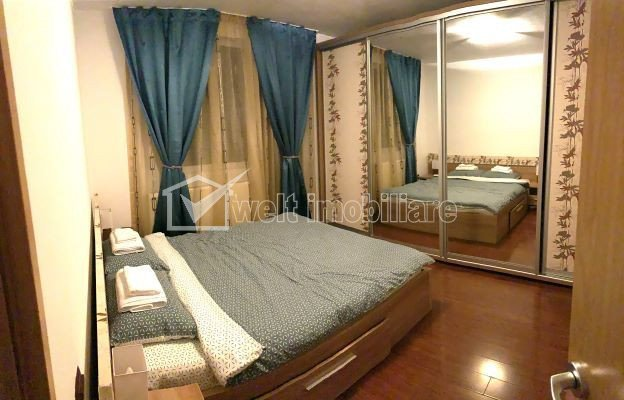 Apartament cu 3 camere, modern finisat, modern mobilat, Apahida