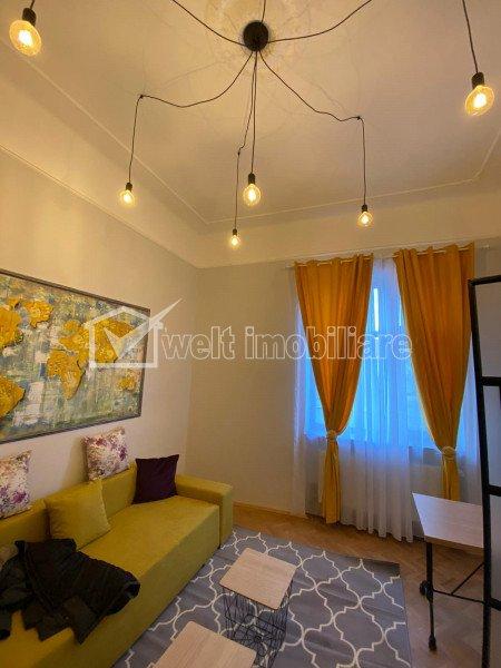 Apartament 1 camera la casa, Ultrafinisat, Mobilat, zona Hasdeu
