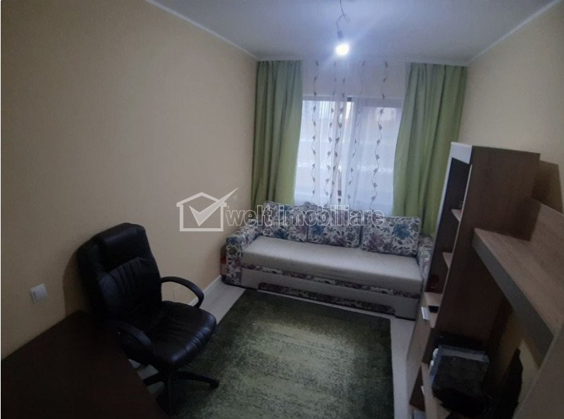 Vanzare apartament 3 camere, cu gradina in Floresti, zona Sub Cetate