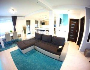 Duplex superb cu 4 camere, 2 bai, 116mp utili, 250mp teren, LUX, Someseni