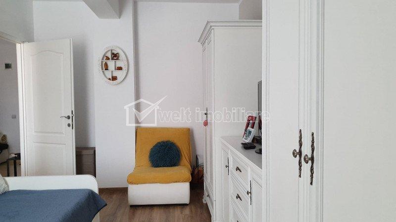 Vanzare apartament cu o camera, finisat si mobilat, Floresti, Urusagului