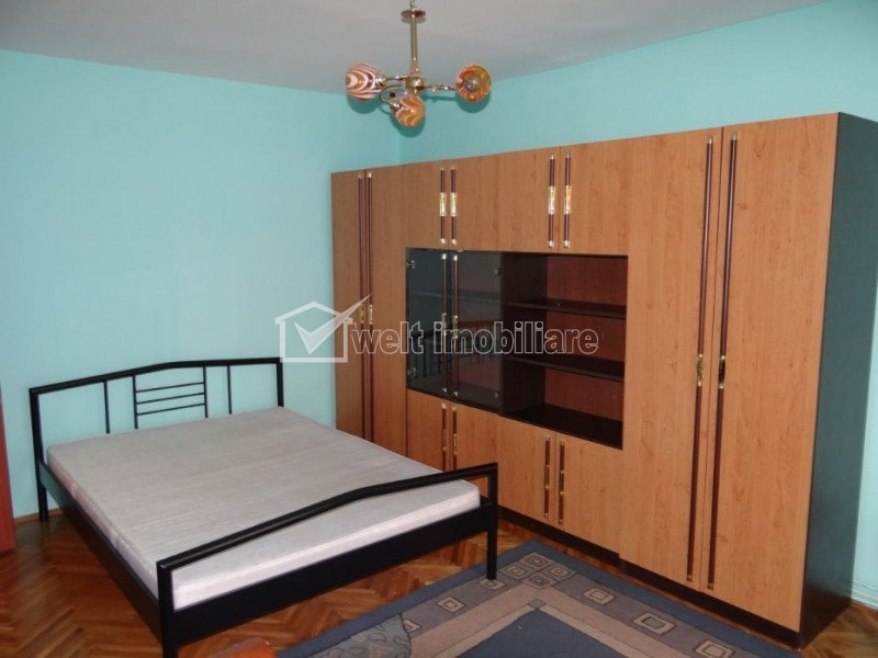 Inchiriere apartament 3 camere decomandat, mobilat si utilat, Manastur