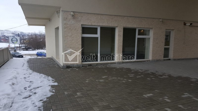 Spatiu comercial Borhanci 60 mp, terasa 80 mp, ideal pentru showroom