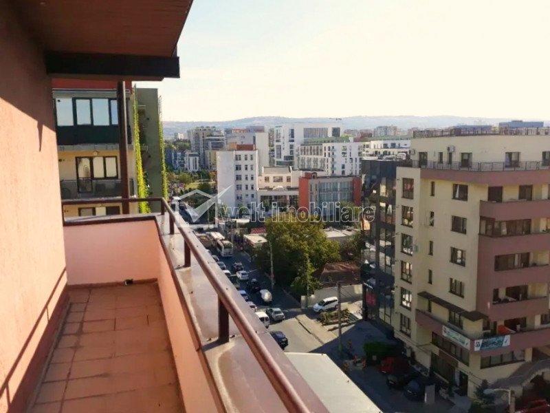Apartament cu 2 camere, 50 mp, orientare sud-vest, terasa, Iulius Mall
