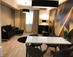Apartament de lux 2 camere, ultrafinisat, mobilat si utilat Piata Avram Iancu !