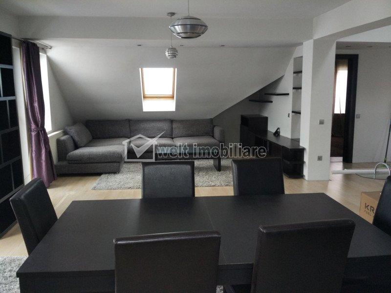 Apartament cu 3 camere, modern finisat si complet mobilat, Manastur, Campului