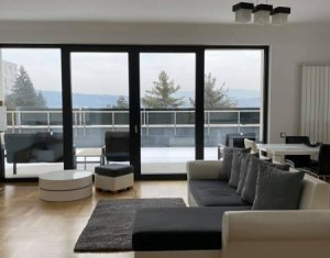 Inchiriere apartament 3 camere, modern, garaj,terasa, Gradini Manastur