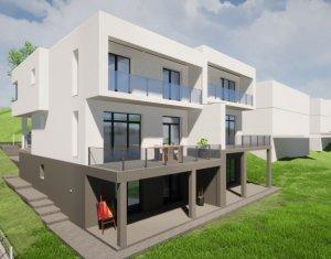 Casa/duplex zona cu panorama frumoasa, D+P+E, 1650 mp