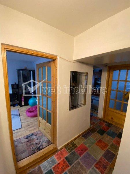 Apartament 3 camere, 2 bai, 64 mp utili, mobilat, zona linistita, Manastur