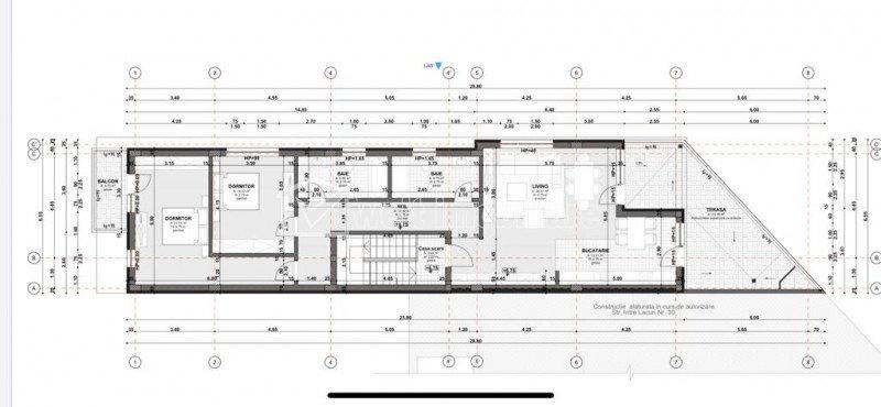 Apartament 3cam imobil tip vila,106,77mp, terasa generoasa, 3 min de Iulius Mall