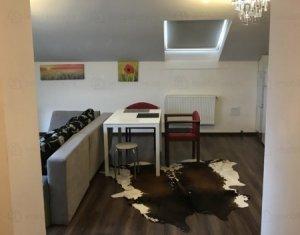 Apartament cu 2 camere mobilat, la mansarda, zona Buna Ziua