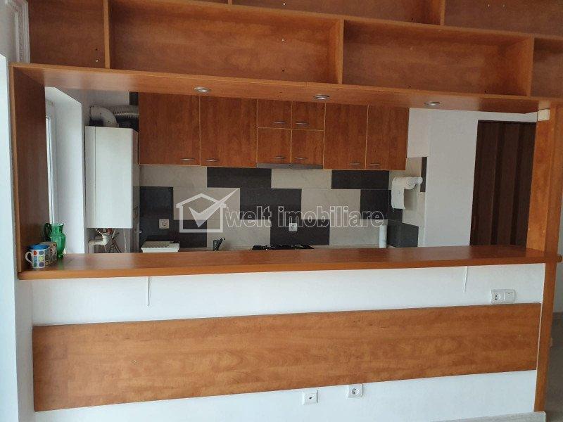 Apartament 1 camera, finisat si utilat, Floresti