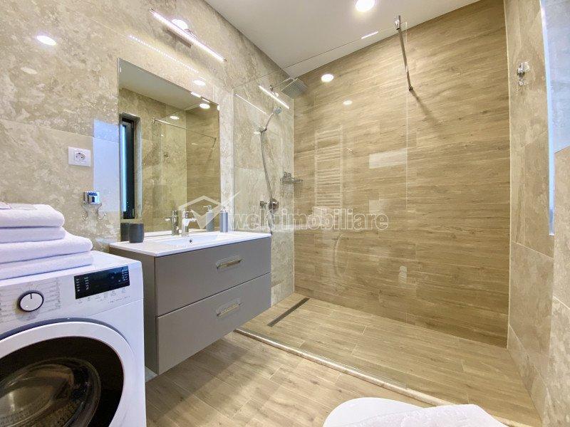 CHELTUIELI INCLUSE! Apartament de lux 2 camere, garaj subteran, zona Plopilor