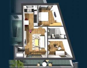 Lakás 3 szobák eladó on Cluj-napoca, Zóna Centru