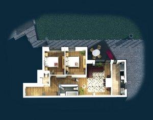 Apartament de vanzare, 3 camere, 73 mp, Centru
