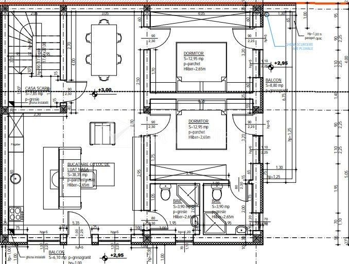 Cladire pentru birouri , 2 corpuri, 2 niveluri, zona Hasdeu