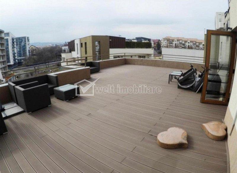 Panorama 360, penthouse, 194 mp, terase 118 mp, Andrei Muresanu