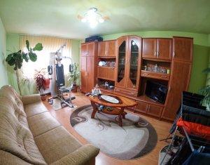 Apartament 3 camere 68 mp, decomandat, finisat, zona centrala, Apahida