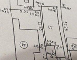 Casa demolabila cu teren pentru bloc 783 mp UTR RrM3 CUT 2.0 POT 40% front 6m