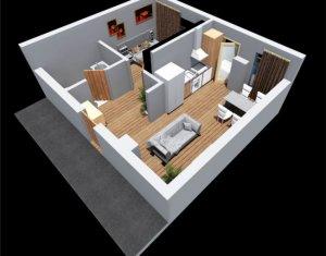 Apartament cu 2 camere, bloc nou, zona Tetarom 1