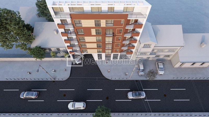Spatiu comercial 66mp, H=5m, Centru pod Traian, parcare inclusa