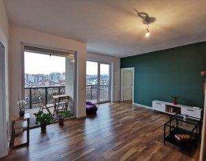 2 camere LUX, 2 balcoane, etaj 4 din 5 parcare subterana, CF, Andrei Muresanu