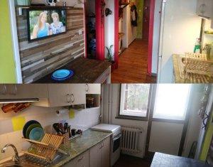Apartament cu 2 camere decomandat, 50 mp, 2 balcoane de 7 mp, Gheorgheni