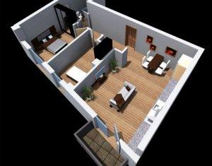 Apartment 3 rooms for sale in Cluj-napoca, zone Dambul Rotund