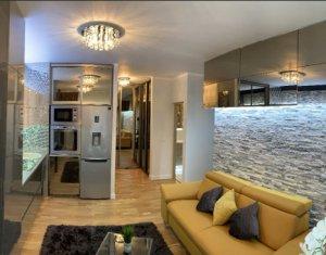 Vanzare apartament 3 camere, finisat, mobilat lux