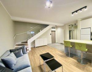 Penthouse 4 camere, utilat, mobilat lux, parcare subterana, Intre Lacuri