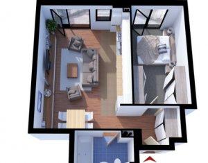 Apartament 2 camere, 54mp, terasa de 15 mp, Gheorgheni