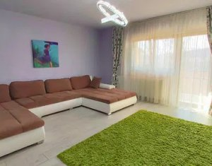 Apartament 3 camere, decomandat, Baciu, 82 mp, parter, gradina