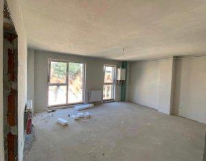 Apartament 2 camere 56,50 mp, semifinisat, bloc nou, Gara