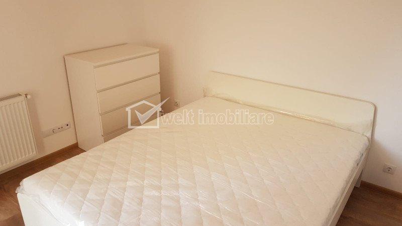 Inchiriere apartament 2 camere, bloc nou, 52 mp, Central