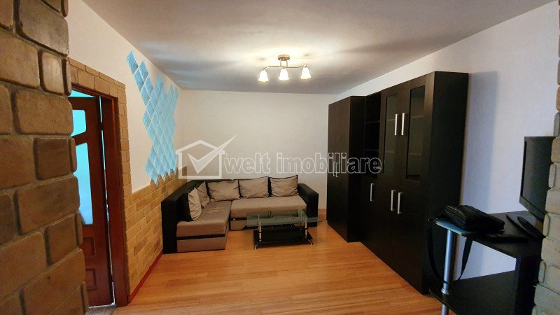 Inchiriere apartament cu 2 camere, finisat si mobilat, zona Florilor