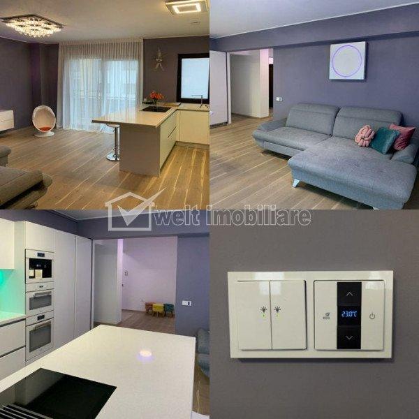 Vindem apart LUX cu 3 camere, decomandat, 73 mp, terasa+parcare zona Buna Ziua