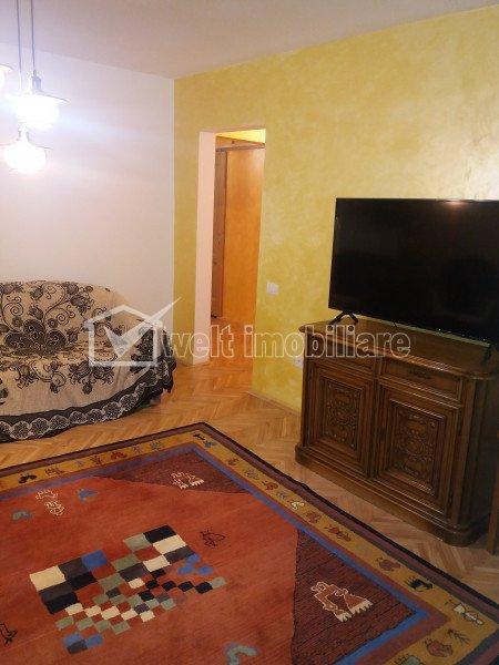 Apartament cu 3 camere decomandat in Grigorescu, design unic