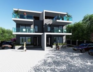 Casa tip duplex, 180 mp, terase 75 mp, teren aferent 320 mp, in Andrei Muresanu