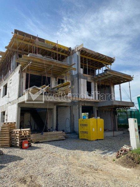 Casa tip duplex, 180 mp, terase 75 mp, teren aferent 320 mp, in Andrei Muresanu
