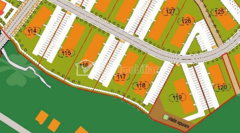 Vanzare parcele teren de bloc, P+3 cu PUD aprobat, POT 30%, CUT 1,2, Iris