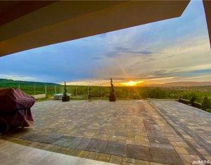 Casa superba de vanzare in zona Borhanci, 550 mp utili + teren, panorama de vis