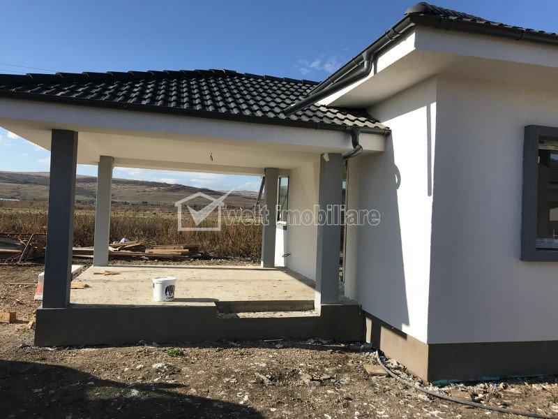 Casa 3 dormitoare, 530 mp curte, proiect 7 case, Jucu de Mijloc